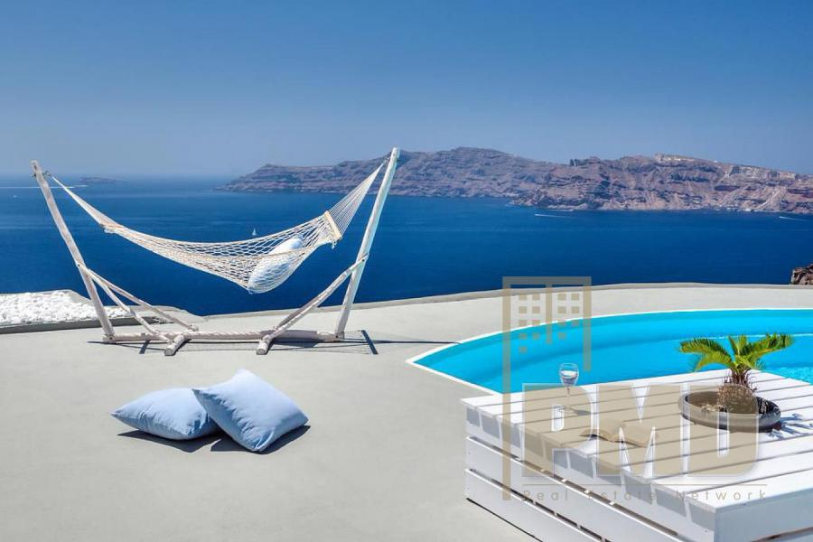 Luxury complex for sale in Santorini, Greece.
