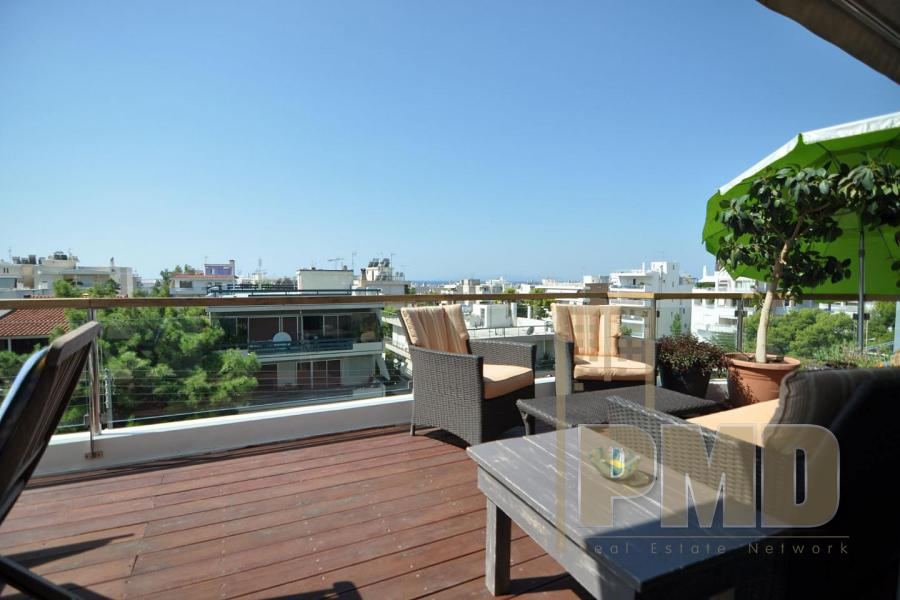 Penthouse for rent in Central Glyfada.