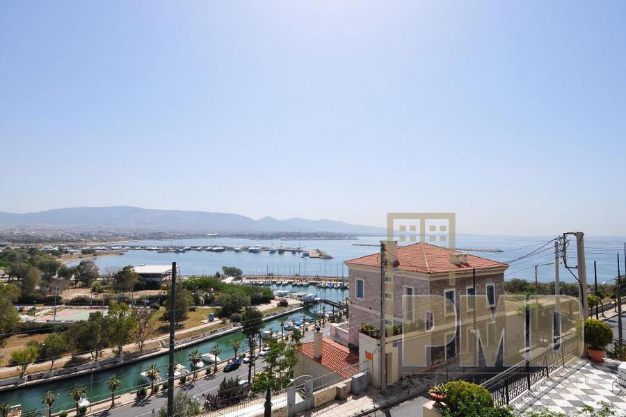 Sea view apartment for sale in Pireas (Kastella), Athens Greece.