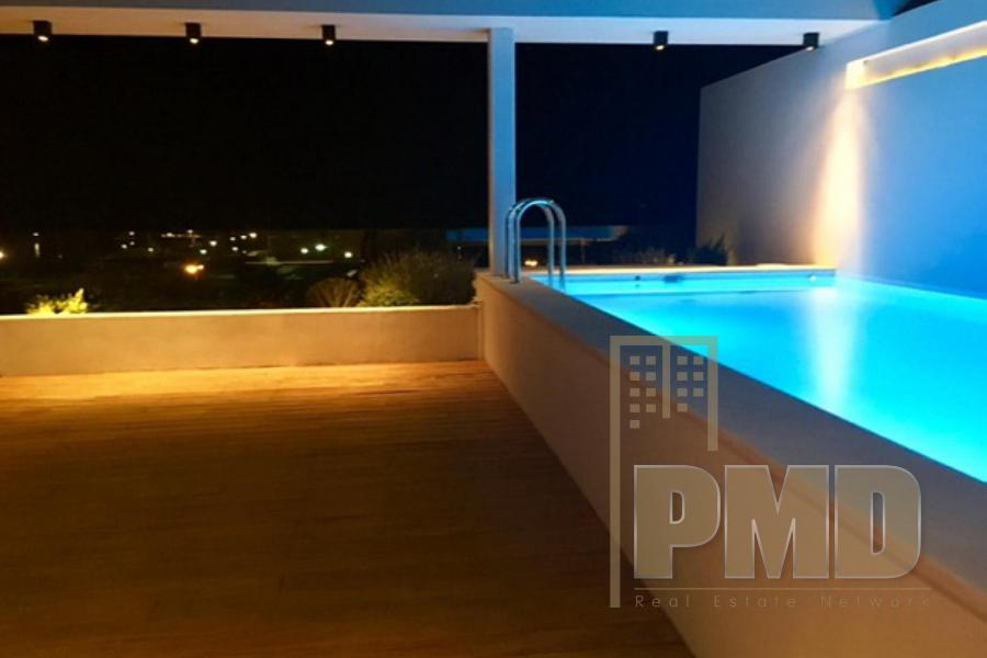 Sea View Penthouse for sale in Elliniko, Athens Greece.