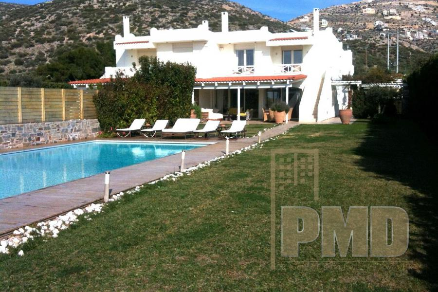 Furnished Villa for rent in Saronida, Athens Greece.